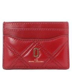Холдер д/кредитных карт MARC JACOBS M0015780 темно-красный