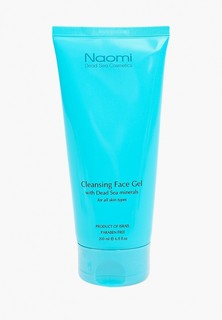 Гель для лица Naomi Dead Sea Cosmetics -скраб очищающий, With Dead Sea Minerals, 200 мл