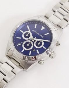 Серебристые наручные часы Michael Kors layton MK8781-Серебряный