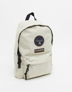 Светло-серый мини-рюкзак Napapijri Voyage-Кремовый