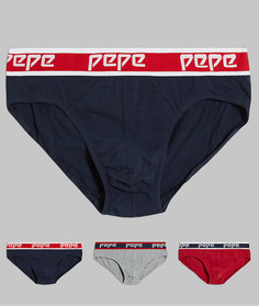 Набор из 3 трусов Pepe Jeans-Мульти