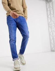 Ярко-синие джинсы скинни Celio-Синий