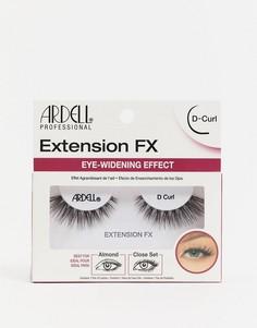 Накладные ресницы Ardell Extension FX D-Черный