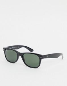 Солнцезащитные очки-вайфареры с оправой среднего размера Ray-Ban - 0rb2132-Черный