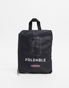 Черный рюкзак с застежкой-зажимом Eastpak