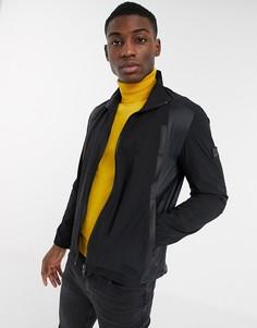 Складывающаяся куртка BOSS Athleisure-Черный