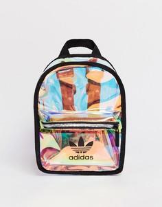 Миниатюрный прозрачный рюкзак adidas Originals-Мульти