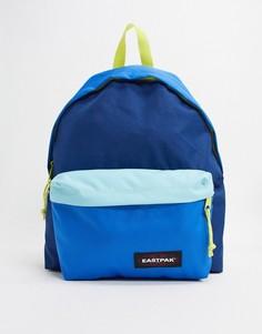 Синий рюкзак колор блок Eastpak