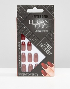Накладные ногти Elegant Touch-Бежевый