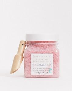 Соль для ванны с арбузом и мятой Sunday Rain-Бесцветный