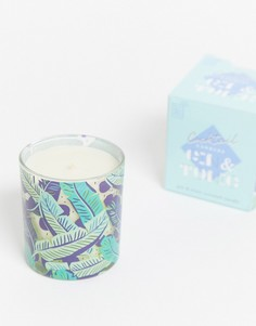 Свеча с ароматом джин-тоника Gift Republic-Бесцветный
