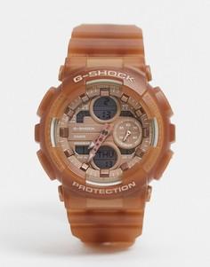 Наручные часы цвета розового золота Casio G Shock GMA-S140NC-Золотой