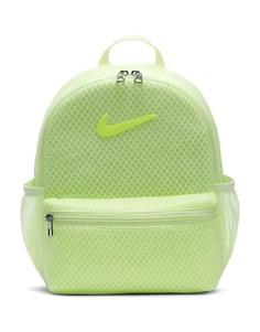 Неоново-зеленый мини-рюкзак Nike
