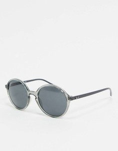 Круглые серые солнцезащитные очки Ray-ban ORB4304-Серый