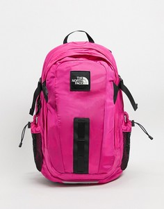 Розовый рюкзак The North Face