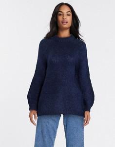 Темно-синий свитер Vila