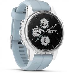 Спортивные часы Garmin Fenix 5S Plus Sapphire (белый)