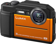 Цифровой фотоаппарат Panasonic Lumix DC- FT7 (оранжевый)