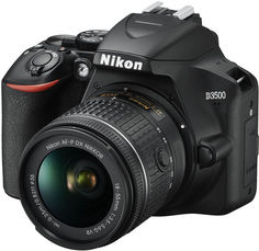 Цифровой фотоаппарат Nikon D3500 18-55 P VR (черный)