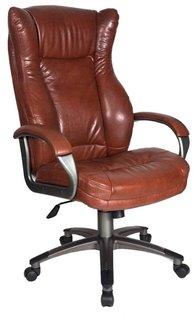 Кресло руководителя Бюрократ CH-879 (коричневый)