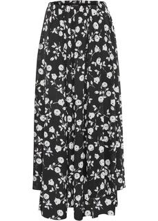 Длинные юбки Юбка макси с принтом Bonprix