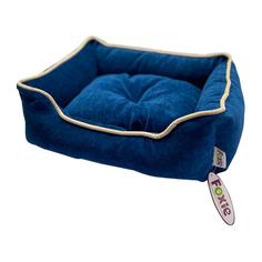 Лежак для животных Foxie Colour 70х60х23см синий