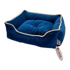 Лежак для животных Foxie Colour 60х50х18см синий
