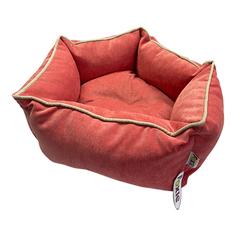Лежак для животных Foxie Colour Звезда 51х51х22см розовый