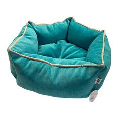 Лежак для животных Foxie Colour Звезда 51х51х22см бирюзовый