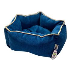 Лежак для животных Foxie Colour Звезда 51х51х22см синий