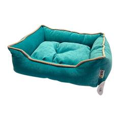 Лежак для животных Foxie Colour 60х50х18см бирюзовый