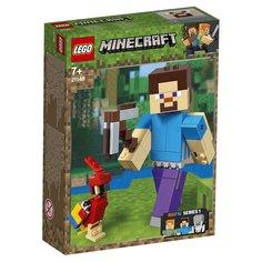 Конструктор Lego Minecraft Стив с попугаем