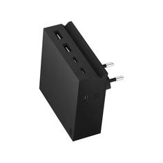 Зарядное устройство USBepower HIDE PD, 5 IN 1, 2 USB-A / 3 USB-C, Black