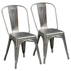 Комплект из 2 стульев Tolix La Redoute