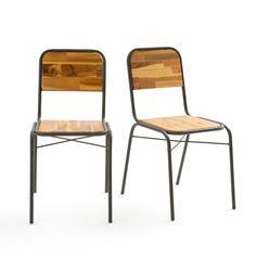 Комплект из 2 школьных стульев La Redoute