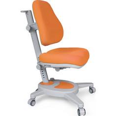 Кресло Mealux Onyx (Y-110) KY + чехол/обивка оранжевая однотонная