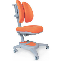 Кресло Mealux Onyx Duo (Y-115) KY + чехол/обивка оранжевая однотонная