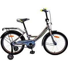 Велосипед Nameless 14 VECTOR, серебристый/желтый