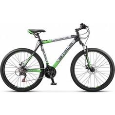 Велосипед Stels Navigator 600 V 26 V010 (2017) 19 Серый/серебристый/зеленый