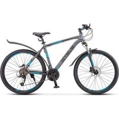 Велосипед Stels Navigator 640 D 26 V010 (2019) 17 Серый/синий