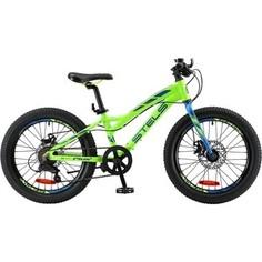 Велосипед Stels Adrenalin MD 24 V010 (2018) 13.5 Неоновый лайм