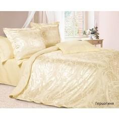 Комплект постельного белья Ecotex Семейный, сатин-жаккард, Герцогиня (4607132579150)