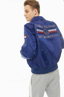 Куртка MW0MW13518 C7H blue ink Tommy Hilfiger