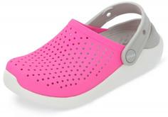 Шлепанцы для девочек Crocs Literide Clog K, размер 27