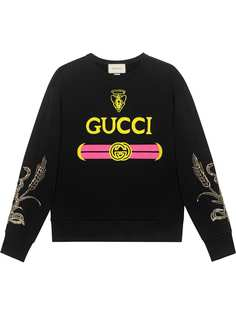 Gucci толстовка с логотипом