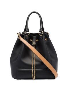 Fendi сумка-мешок с цепочкой