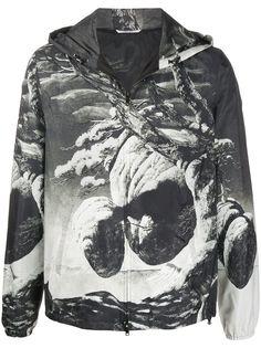 Valentino куртка Floating Island с капюшоном