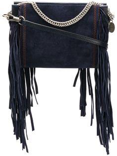Givenchy сумка через плечо с бахромой