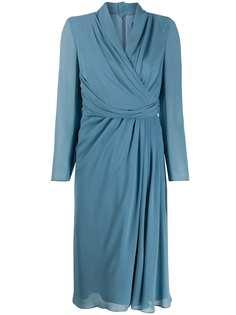 Max Mara платье Galizia с запахом