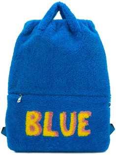 Fendi рюкзак со слоганом Blue